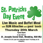 St Patricks Day Event
